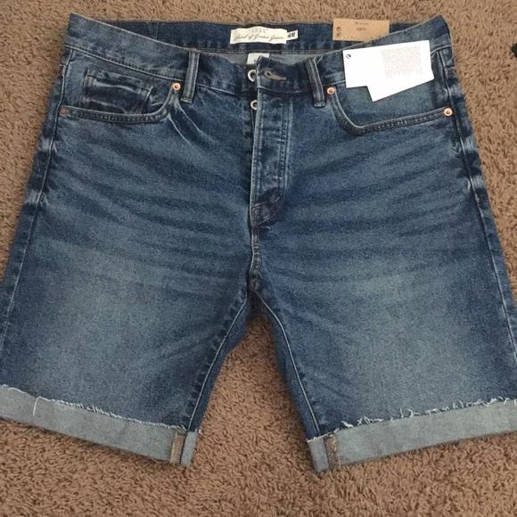 8b1e86053 H&M Shorts   Mens Stylish Hm Nwt Slim Fit Size 34 Jean   Poshmark